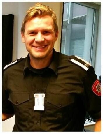 Branninspektør Sigurd Folgerø Dalen. Foto: Oslo brann- og redningsetat