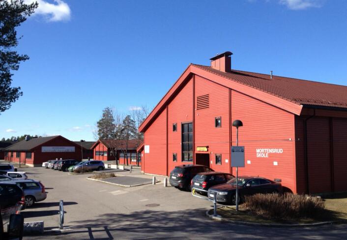 I NRKs heftig debatterte reportasje om ungdomskriminalitet fokuserte de på Mortensrud skole. Foto: Wikipedia / Kimsaka