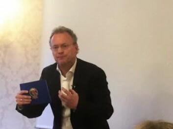 Raymond Johansen lover at byrådet ikke skal isolere seg i rådhustårnet i forhold til planen om bilfritt byliv. Foto: Vegard Velle