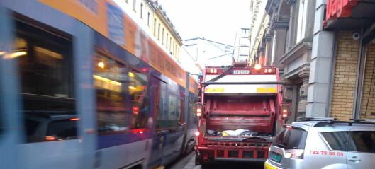 — Dagens transportkaos i sentrum er bare en forsmak på hva som venter oss