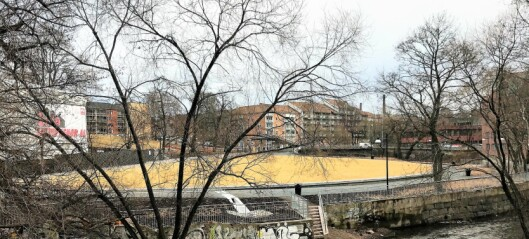 Den nye parken Nedre Foss ved Akerselva er endelig klar til bruk