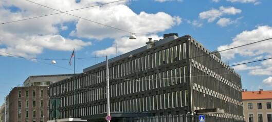 Nå skal den amerikanske ambassaden på Ruseløkka selges