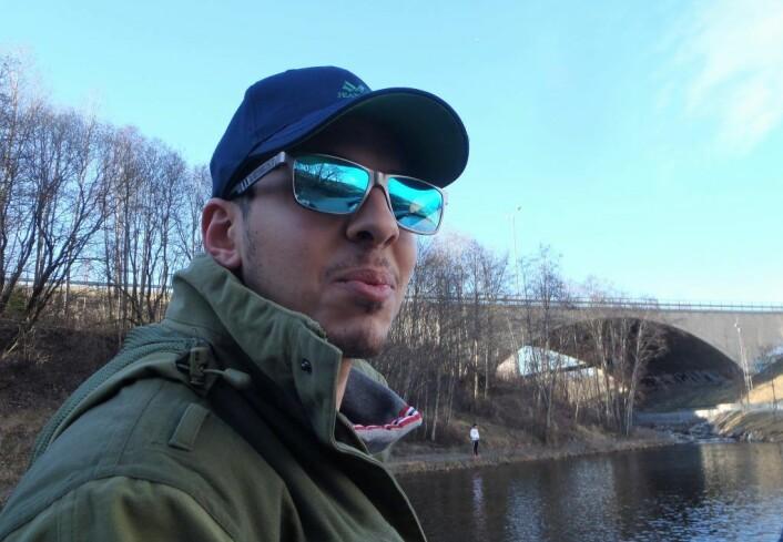 Leder i Urban Anglers, Ahmed El-Feky drømmer ennå om den store som glapp. Denne sommeren får han nye sjanser. Foto: Anders Høilund