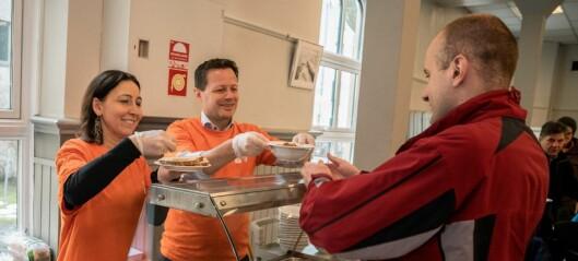 Kirkens bymisjon: — Det er 20 000 helt nødvendige måltider - dessverre