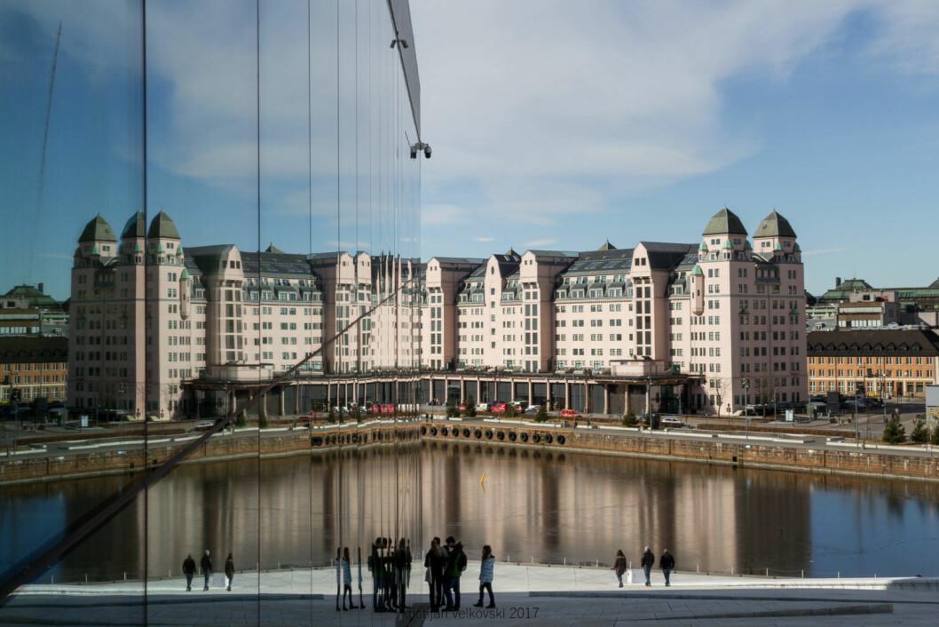 Havnelageret sett fra Operaen. Foto: Kristijan Velkovski