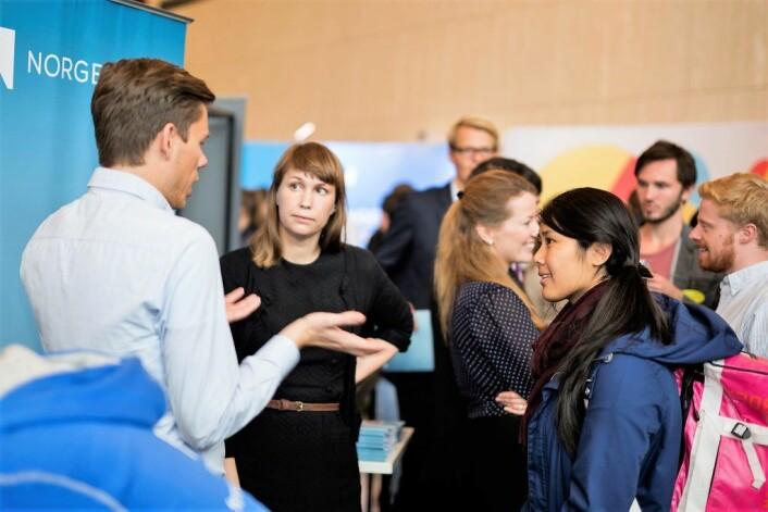Studenter ved Universitetet i Oslo. Foto: Norges bank / Flickr