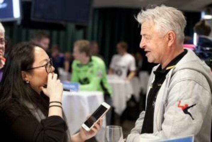 Arne Erlandsen, trener for LSK, vil ikke havne i fjorårets situasjon. Foto: Patricia Varela