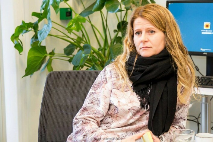 Leder for teamet, Kristin Normann Wergeland. Foto: Kristijan Velkovski