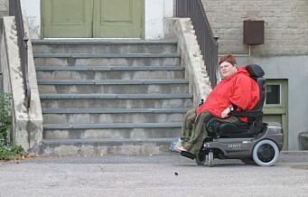 – Byens nye kulturherligheter må bli tilgjengelige også for oss med rullestol, rullator, krykker eller stokk