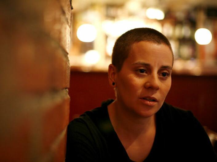 Susanne Demou Øvergaard i Skeiv Verden er svært godt fornøyd med at hatkrimgruppa i Oslo ikke legges ned likevel. Foto: Skeiv Verden