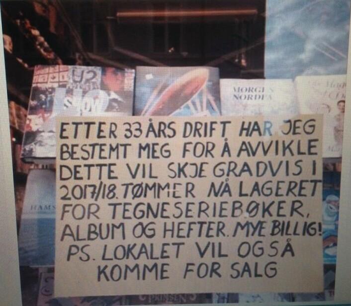 Stadig nye småbutikker velger å legge ned driften på Grünerløkka. Foto: Tone Dalen