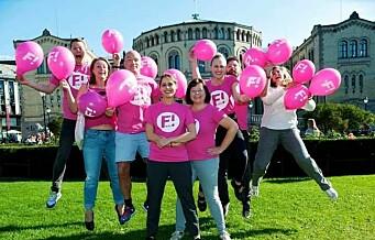 I dag leverer Feministisk Initiativ listene som gjør at de kan stille til stortingsvalg for første gang
