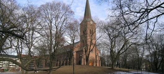 Foreslår å legge ned ni Oslo-kirker for å spare 10 millioner