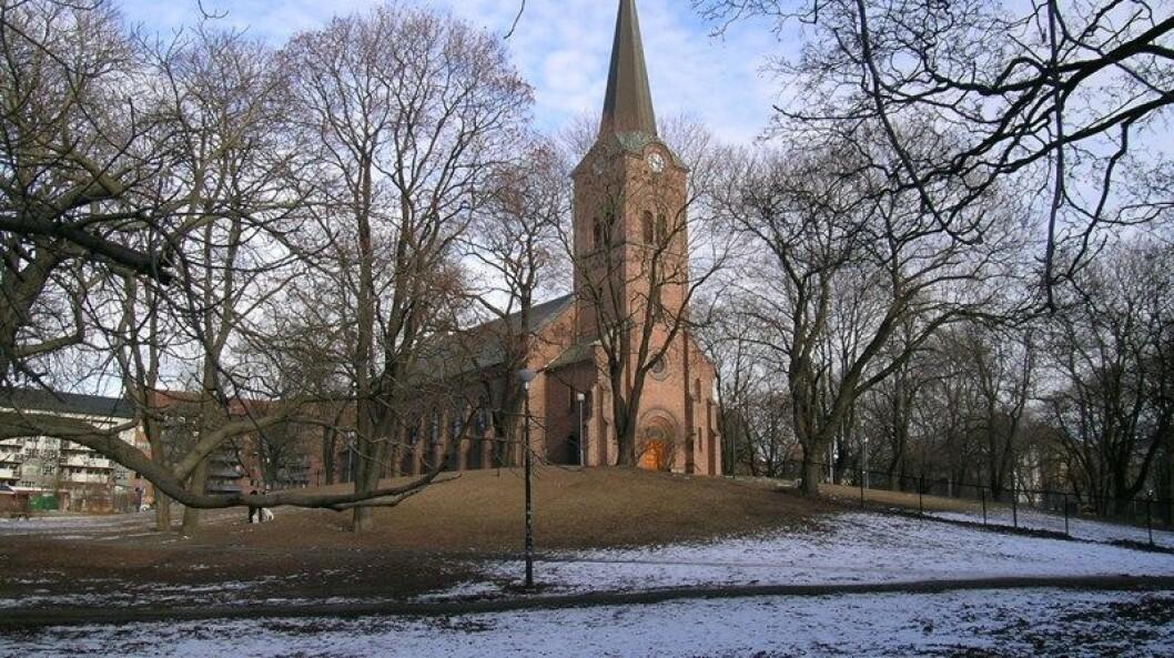 Sofienberg kirke er en av ni kirker i Oslo som kan bli lagt ned for å spare 10 millioner kroner. Foto: Kirken.no