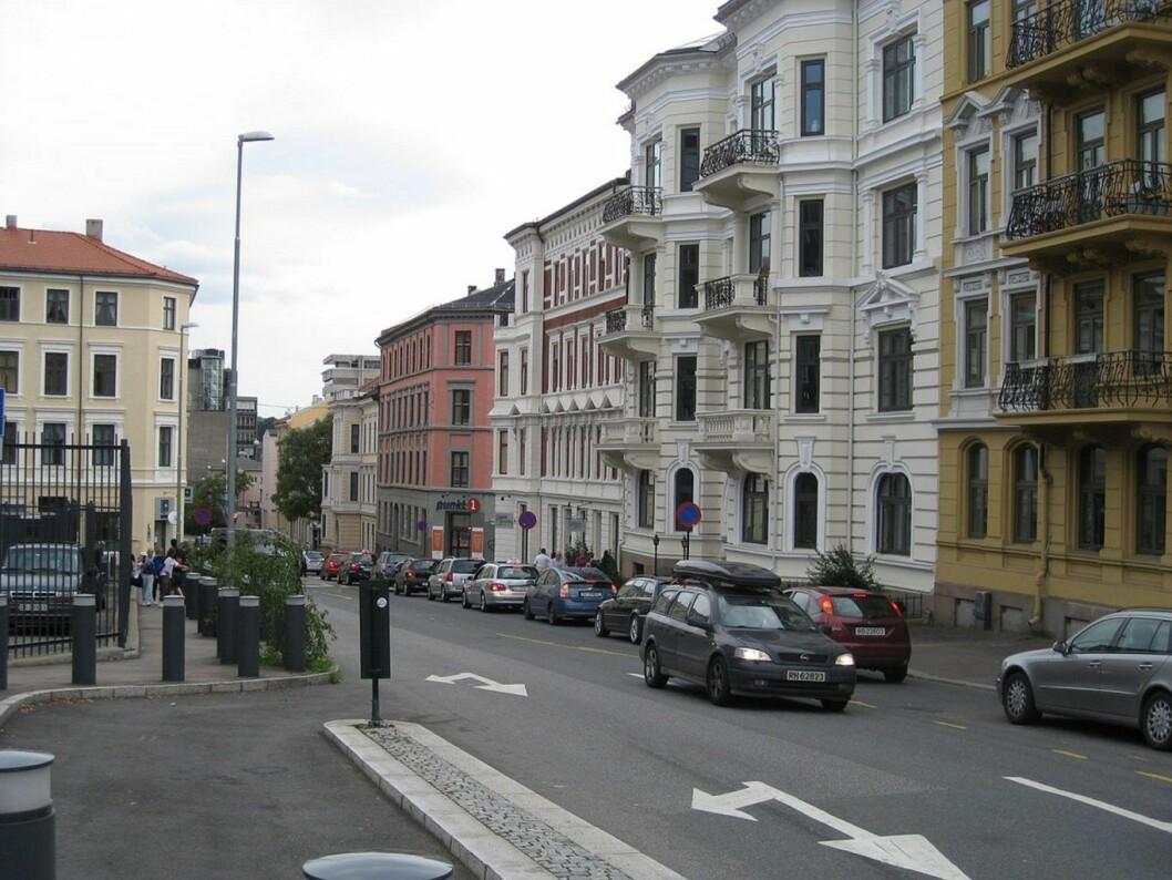 Bymiljøetaten vil ikke stenge Løkkeveien for gjennomgangstrafikk. Foto: Wikipedia