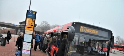 Nye busser på biodiesel skal gjøre underverker for Oslo-luften