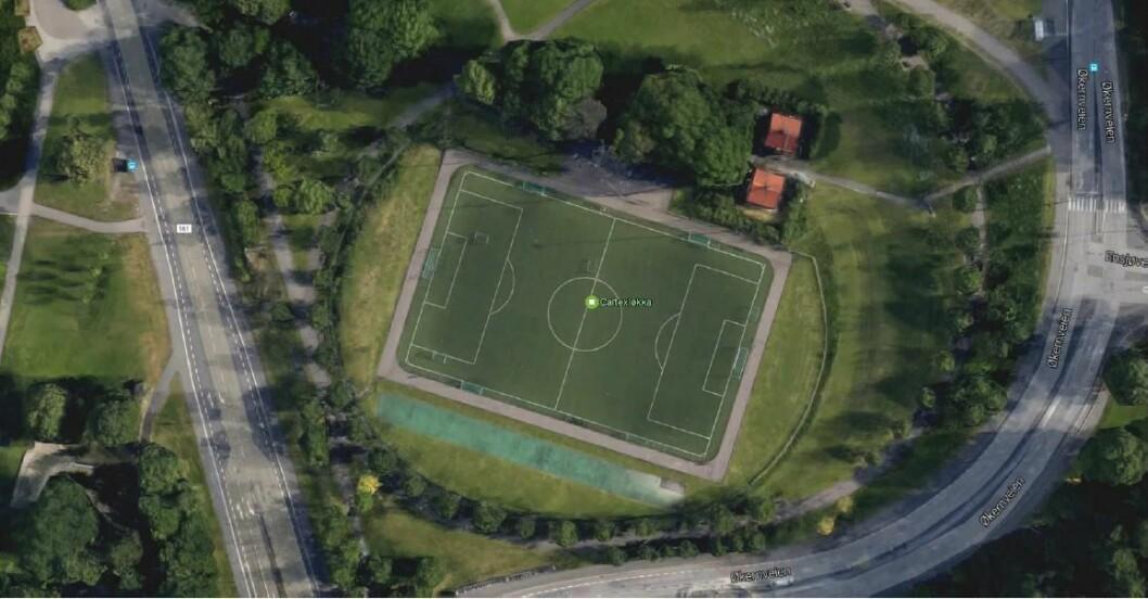 Caltexløkka på Tøyen er hjemmebane for flere av idretsklubbene i indre by. Foto: Andreas Fætten