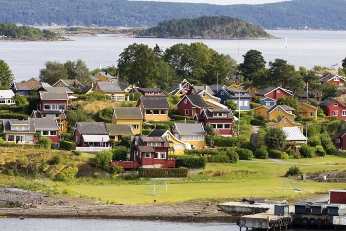 Hytteparadiset Nakkholmen. Foto: Knut-Arve Simonsen