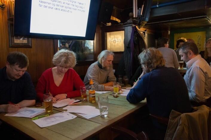 Quizere, O'Reillys Irish pub. Foto: Ka Man Mak
