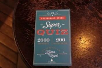 Gyldendals store superquiz, med 2000 spørsmål. Foto: Ka Man Mak