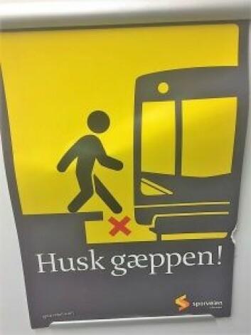 – Sporveien sier: Husk gæppen, vi sier fjern gæppen, fastslår regionkontorleder for Handikapforbundet i Oslo, Jørgen Foss.