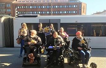 Sporveien: – Dagens avstand mellom t-bane og plattform har Handikapforbundet selv godkjent