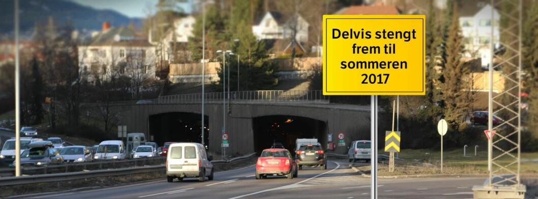 Brynstunnelen åpner 29. april kl 18. Foto: Statens vegvesen