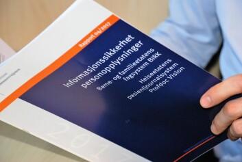 Kommunerevisjonens rapport avdekker en rekke svakheter ved den kommunale allmennlegevaktens digitale journalsystem. Foto: Arnsten Linstad