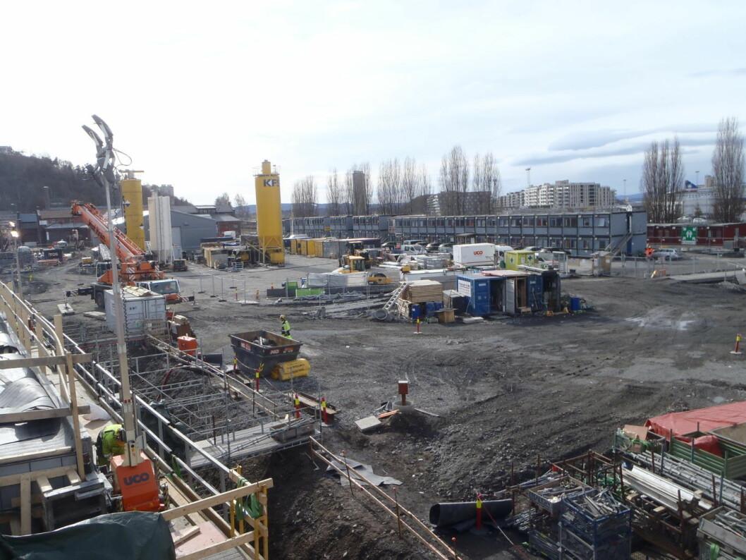 Bjørvika er i rask utvikling. Foto: Anders Høilund
