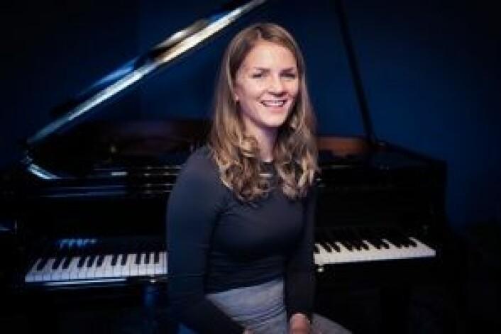 Jazzpianist Maren Selvaag skal opptre på festivalen. Foto: André Løyning
