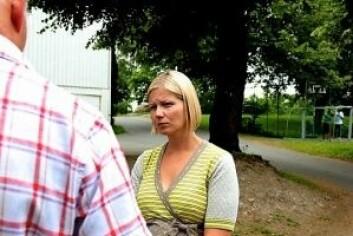 Guri Melby (V) er rystet over mangelen på handling overfor fotgjengerne i Løkkeveien. Foto: Venstre