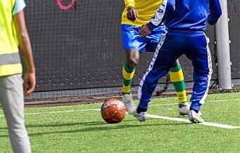 Etter fire år på flukt får syriske Mohammed Ahmad endelig spille fotball igjen