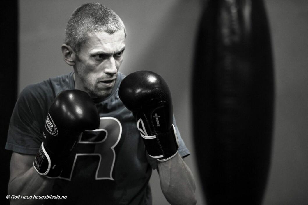 Rune Vethe er initiativtager til treningsfelleskapet Park & Idrett, for parkinsonpasienter. Nå er de sertifisert som Rock Steady Boxing, Oslo. Foto: Rolf haug