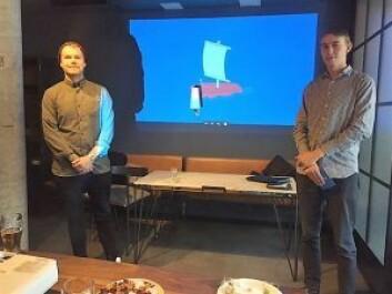 En konkurranse med trebåter nedover langs Akerselva var finalist i konkurransen til Akerselvas næringsforening.