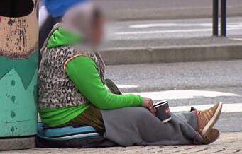 - At regjeringen velger å nedprioritere bostedsløse akkurat nå, er ikke annet enn trist