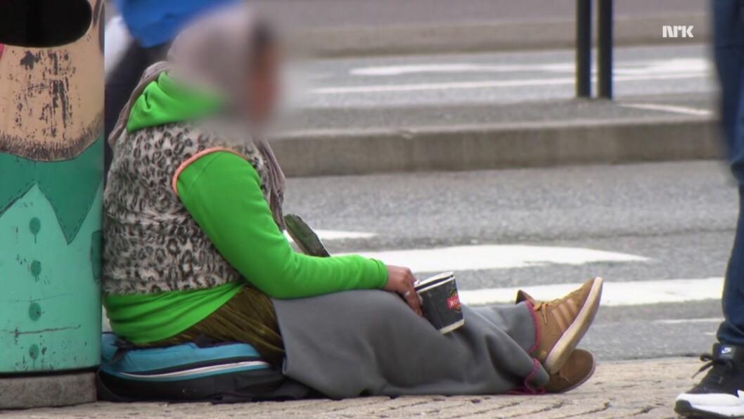 Tigger fra NRK Brennpunkts dokumentar, Lykkelandet. Skjermbilde: NRK Brennpunkt
