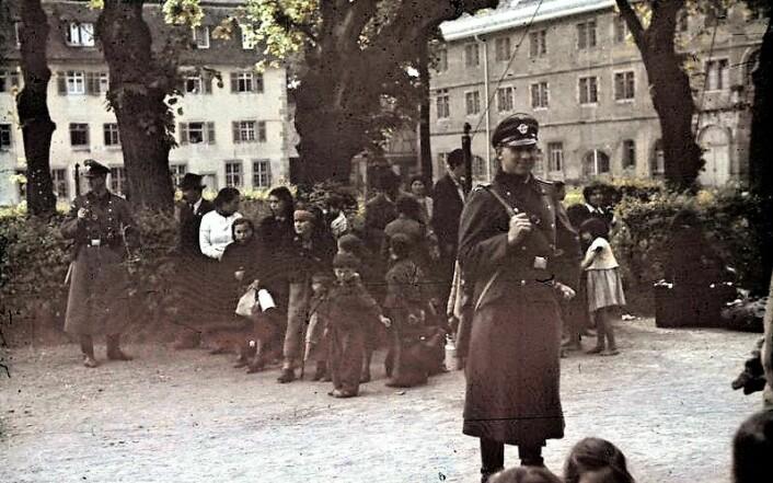Rom forfulgt i andre verdenskrig. Foto: Wikimedia commons