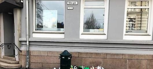 – Det er skittent over alt i Oslo. Det er skammelig og ekkelt