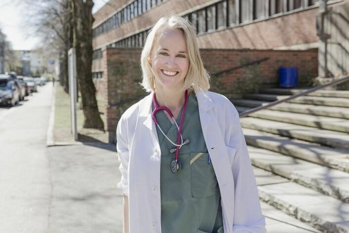 Vanessa Bettembourg er i gang med å utdanne seg til europeisk veterinærspesialist. en utdannelse som har en strykprosent på 70. Foto: Stine Raastad