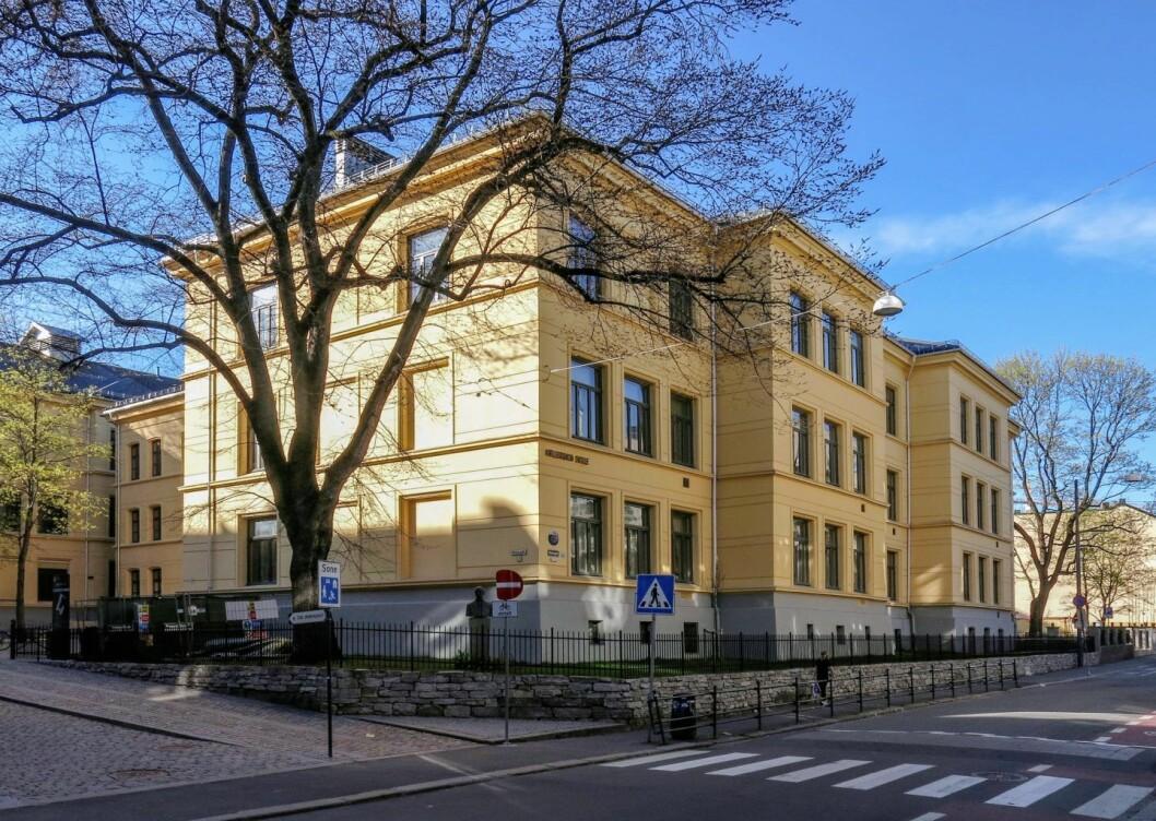 Møllergata skole, av 1860, blir nå fredet av riksantikvaren. Foto Anders Amlo / Riksantikvaren