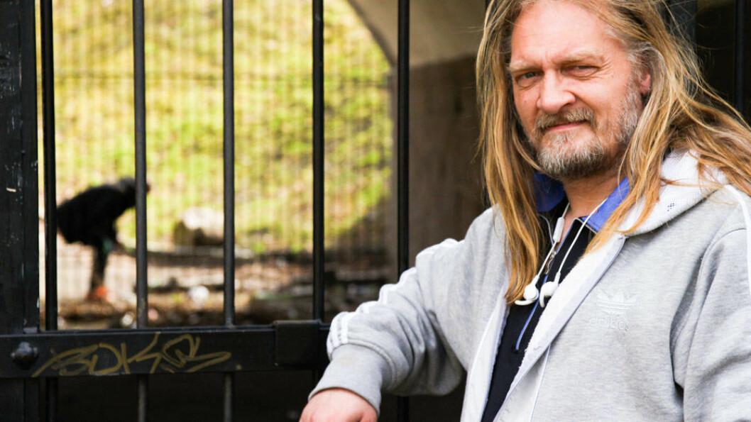 André Olsen har gått fra å være en tung rusmibruker til å bli en respektert miljøarbeider. Foto: Susanne Skaug