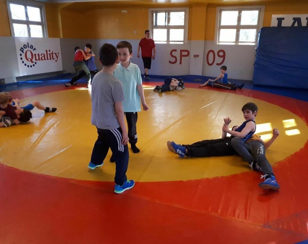 Iveren er stor under barnebrytingpartiene til Sportsklubben 09 på Dælenga. Foto: Christian Boger