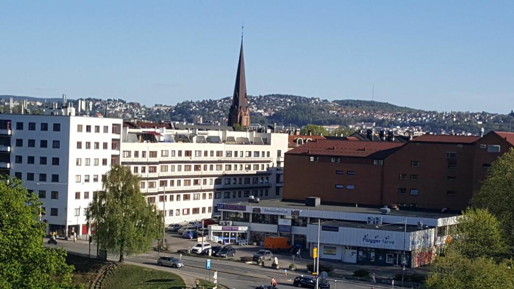 Sagene, Grünerløkka og Gamle Oslo er blant bydelene som får millioner av kroner til å bedre bomiljøet i kommunale boliger. Her fra grensen mellom de to førstnevnte bydelene. Foto: Tarjei Kidd Olsen