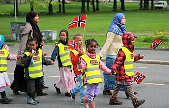 – Frykt skal ikke ødelegge mangfoldet. Alle barna i byen har rett til å glede seg til 17. mai