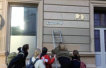 I går ga kvinneaktivister byen en rekke nye gatenavn, oppkalt etter kvinner. Les og se bildene