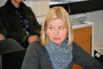 Venstres Guri Melby presset frem uenighet om meldeplikt for tiggere mellom de rødgrønne byrådspartiene. Foto: Arnsten Linstad