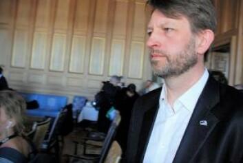 Høyres gruppeleder Eirik Lae Solberg gjentok at hans parti og Frp fortsatt mener forbud er den mest effektive måten å stanse tilreisende tiggere på. Foto: Arnsten Linstad