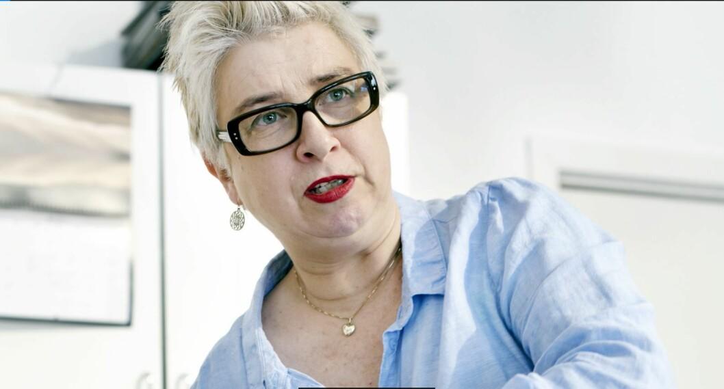 Gro Markhus er en av byens triveligste frisører og holder til i Kirkegata. Foto: Patricia Varela og Jørgen Grindal Engeset