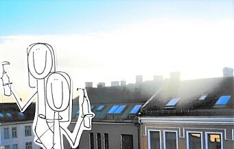 Osloblikk: Den dagen vi sto på takterrassen og drakk Tøyen-cola...