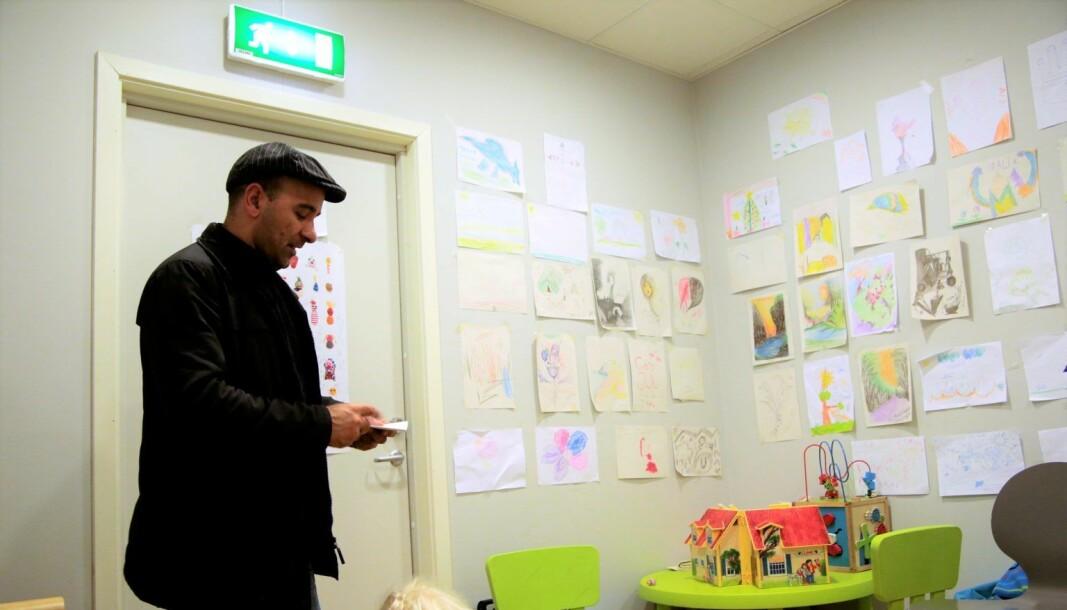 Nasim er en av de papirløse som pleide å oppsøke Helsesenter for papirløse.